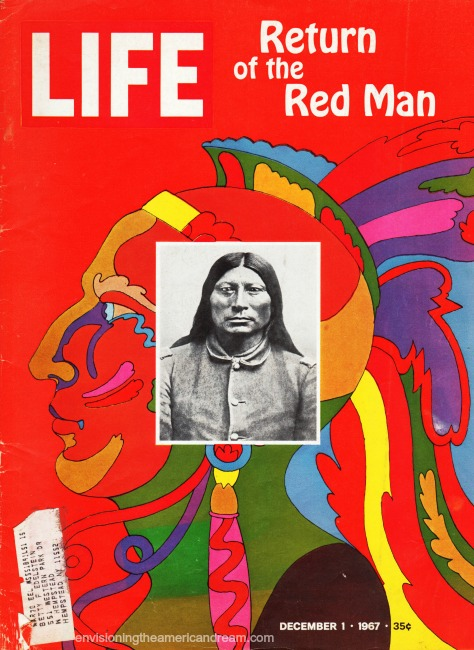 cover Life Magazine Indians 1967