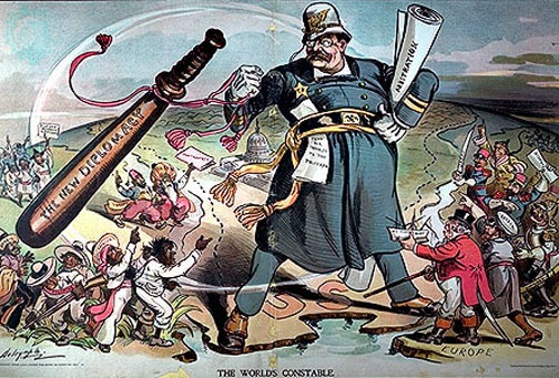 Vintage Teddy Roosevelt political cartoon