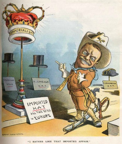 Roosvelt teddy imperialist political cartoon