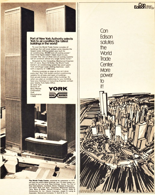World Trade Center Advertisements 1971