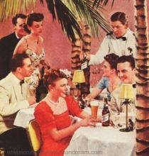 vintage photo 1930s nightclub