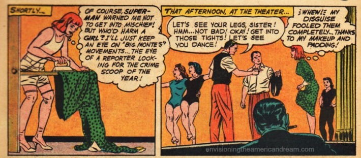 comics jimmy olsen drag