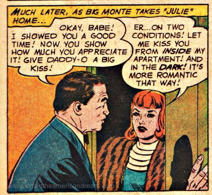 comics jimmy olsen drag kiss