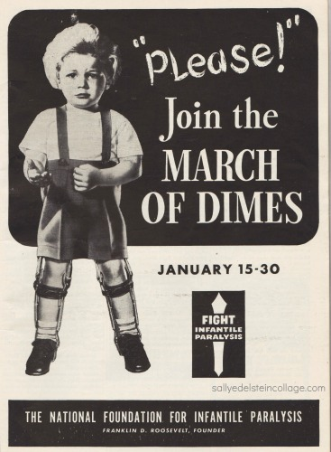 vintage poster March of Dimes