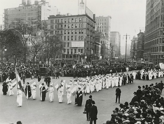 NYC Suffrage Parade