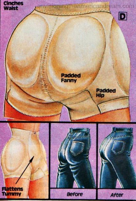 lingerie Fredericks Hollywood padded panty