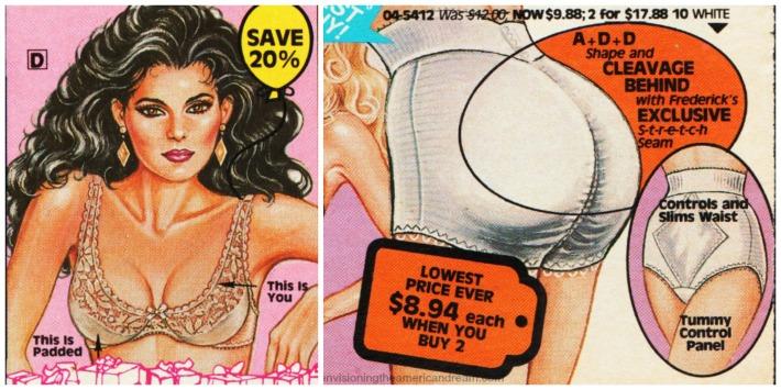 lingerie fredericks Hollywood padding