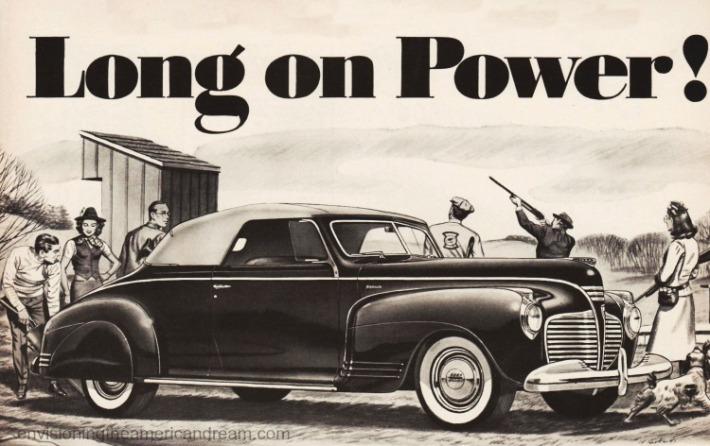 vintage illustration 1940s wealthy people hunting