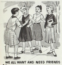 vintage illustration School Book
