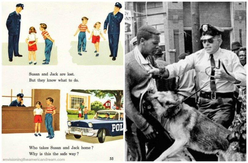 Police different views 1960s