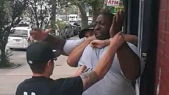 police eric garner chokehold