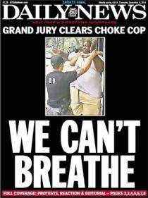 Police NY News We Cant Breath