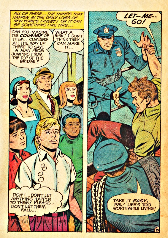 "Vintage Comic Book ""Your Friend the Policeman"" produced by the New York Police Department 1968"
