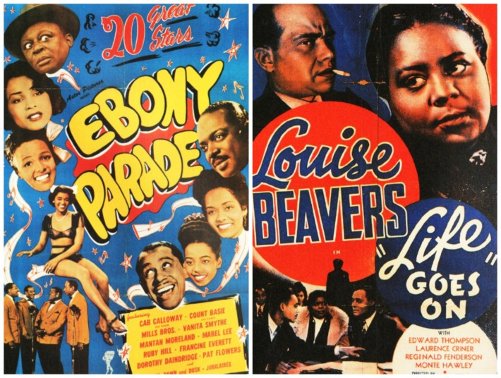 Black Movies Ebony on Parade Life Goes On