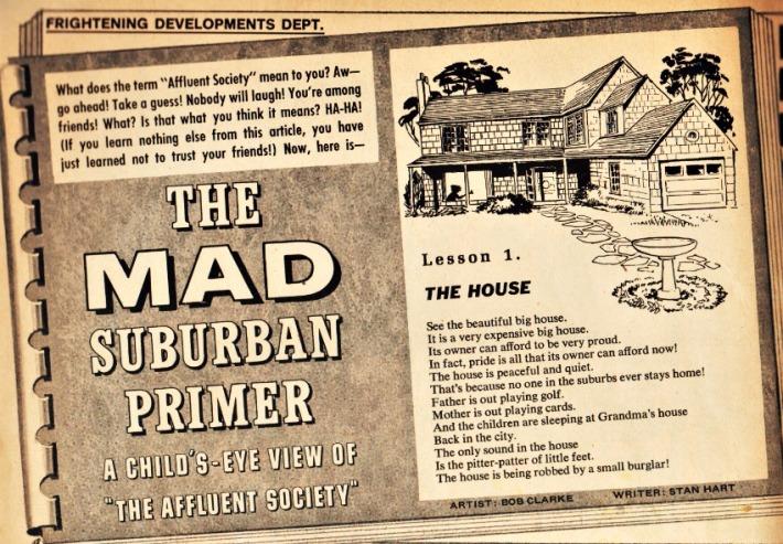 Mad Magazine Suburban Primer