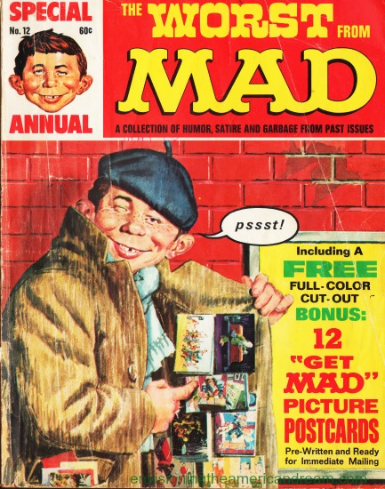 Mad Magazine Worst From Mad Cover