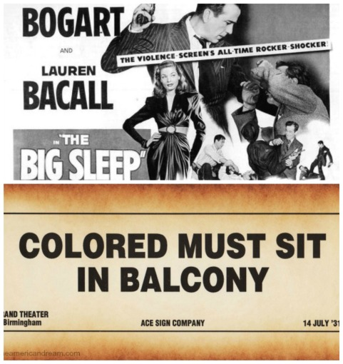 Movies Big Sleep Race Colored In Balcony