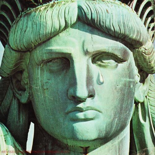 Statue of Liberty Tear