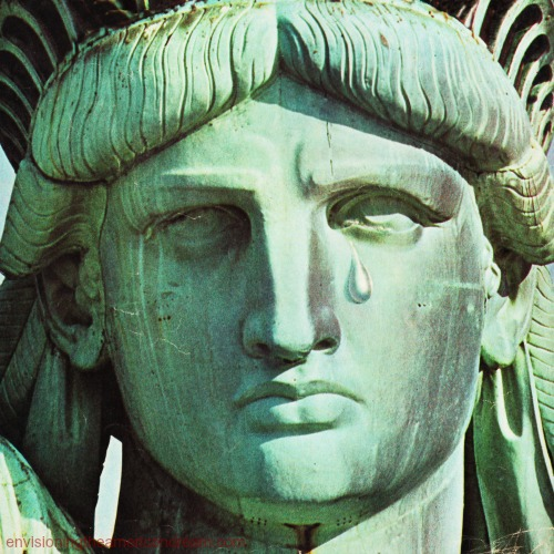 Statue of Liberty Tear