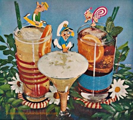 Vintage Rum Advertisement