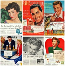 vintage ads Hollywood celebrity endorsements