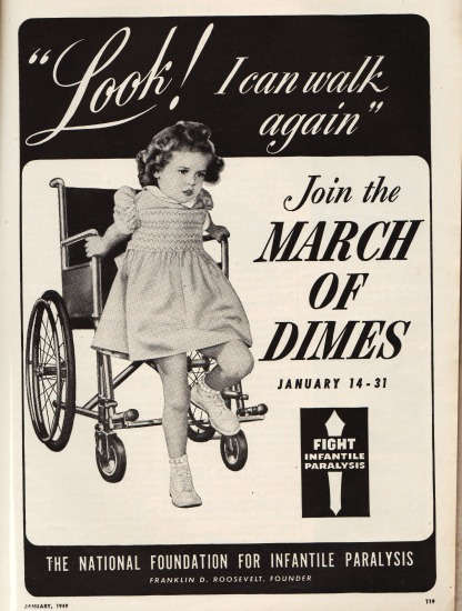 March of Dimes Poster 1949