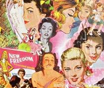 collage art Sally Edelstein