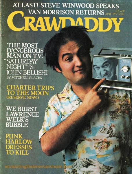 TV SNL John Belushi Crawdaddy Magazine 77 SWScan04312