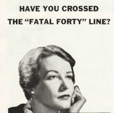 Have You Crossed the Fatal Forty Line picture of woman