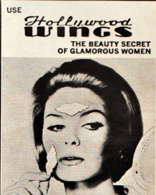 Vintage ad Hollywood Wings