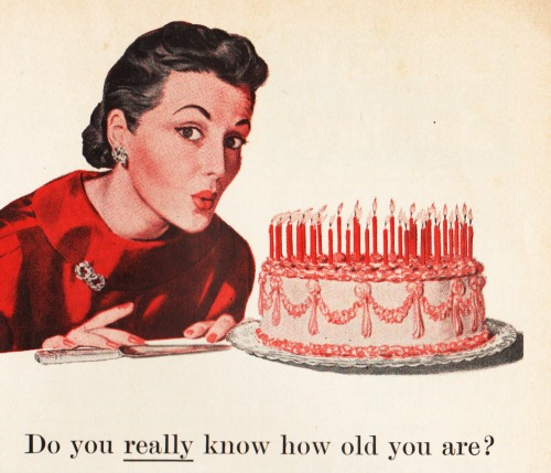 Do You Know How Old You Are picture of woman blowing out birthday candles.