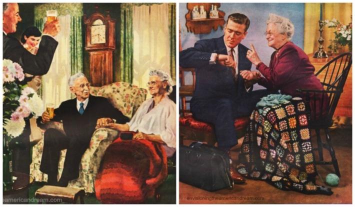 Vintage ads seniors