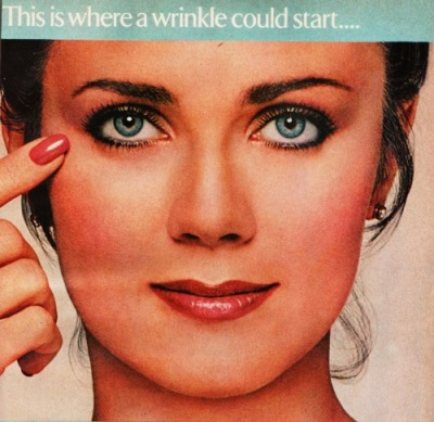 Lynda Carter vintage beauty ad