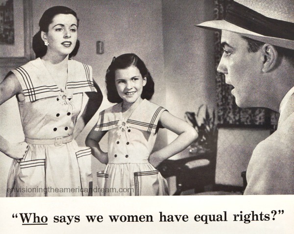 vintage 1950s family sexist ad 51