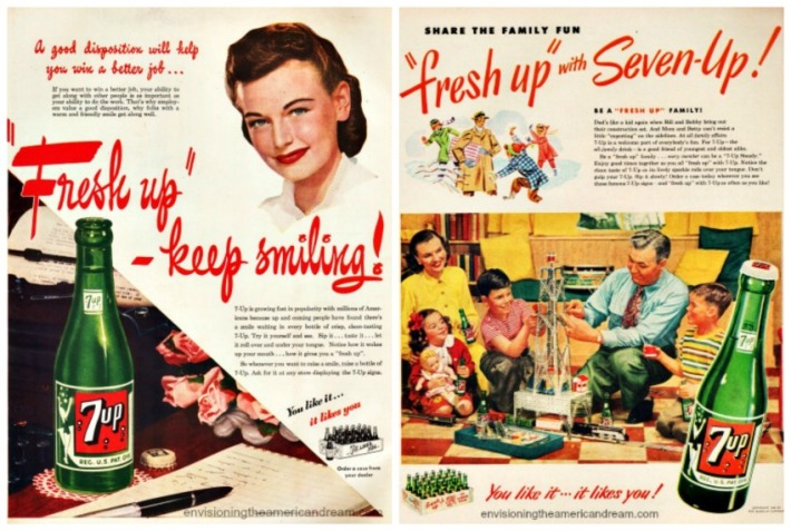 WWII Women 7up career family