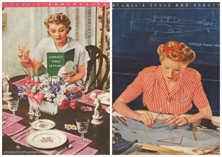 WWII Women McCalls