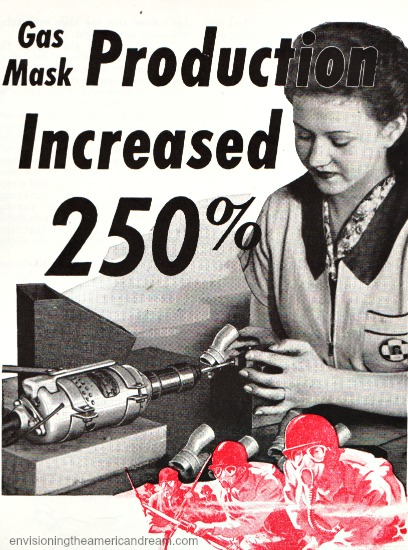 WWII Women Work Production