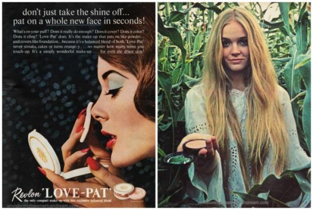 1970 beauty face powder