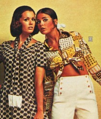 1970 vintage womans fashion
