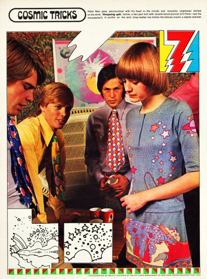 1970 Peter Max Fashion