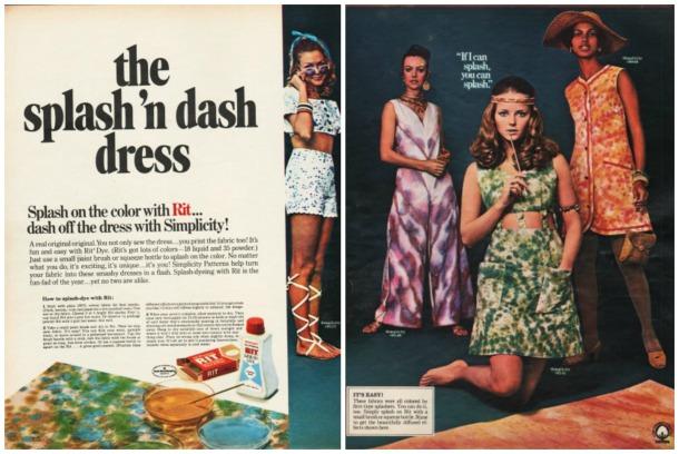 1970 Rit Tied Dye ad