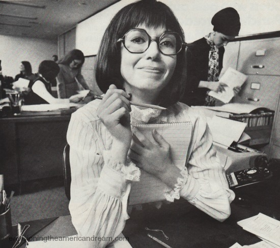 office secretary 1970