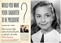 photo of a young Hillary Rodham Clinton