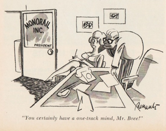 vintage sexist cartoon