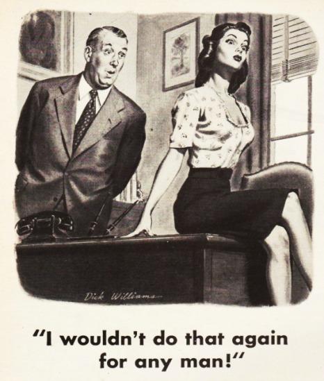 vintage sexist cartoon