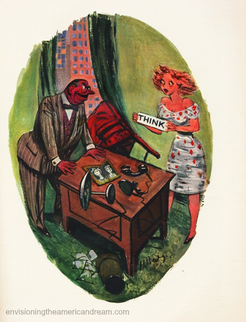vintage sexist office cartoon