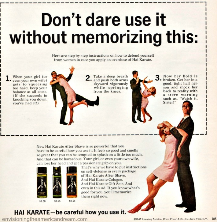 Hai Karate After Shave ad