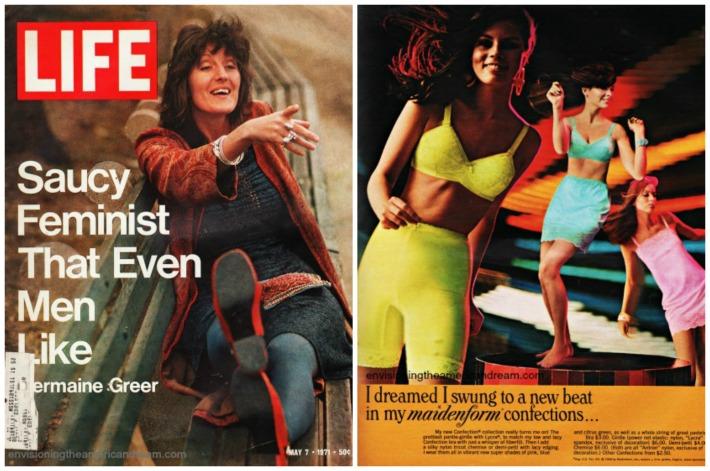 1970 Germaine Greer feminist attractive
