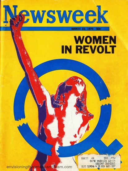 1970 Women Lib Newsweek Cover Women in Revoly