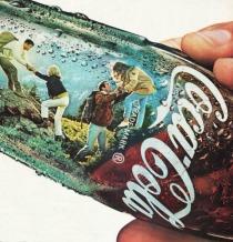coke bottle vintage ad